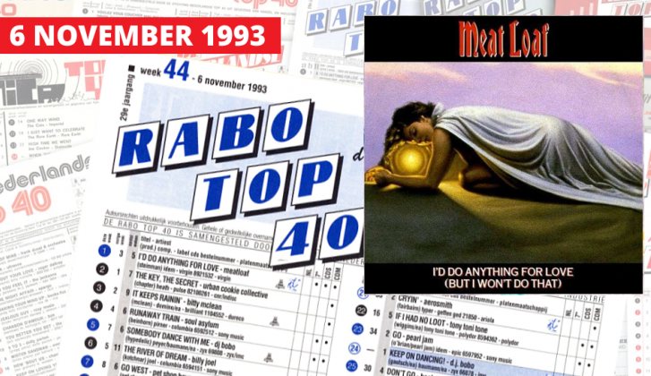 6 november 1993: comeback Meat Loaf